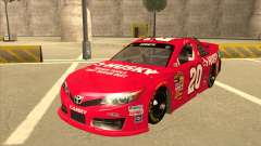 Toyota Camry NASCAR No. 20 Husky для GTA San Andreas