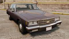 Chevrolet Impala 1985 для GTA 4