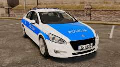 Peugeot 508 Polish Police [ELS]