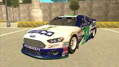 Ford Fusion NASCAR No. 13 GEICO для GTA San Andreas