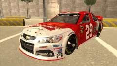 Chevrolet SS NASCAR No. 29 Budweiser для GTA San Andreas