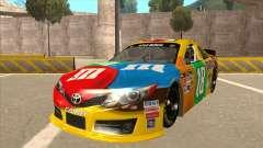 Toyota Camry NASCAR No. 18 MandMs для GTA San Andreas