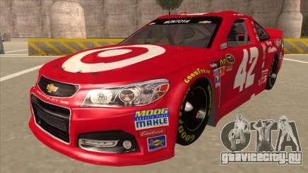 Chevrolet SS NASCAR No. 42 Clorox для GTA San Andreas