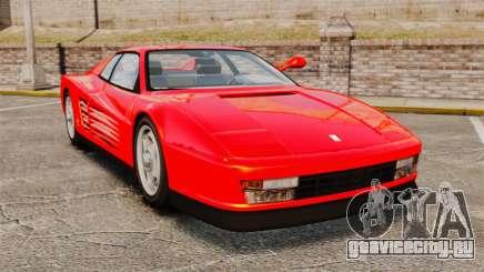 Ferrari Testarossa 1986 для GTA 4