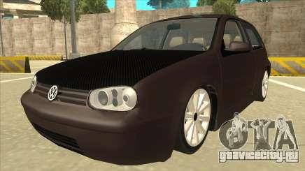 VW Golf 4 Tuned для GTA San Andreas