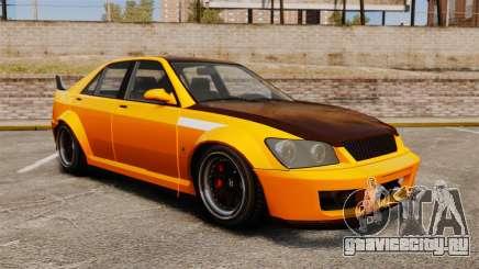 Sultan RS седан для GTA 4