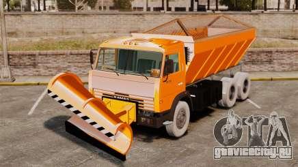 КамАЗ-53215 снегоуборщик для GTA 4