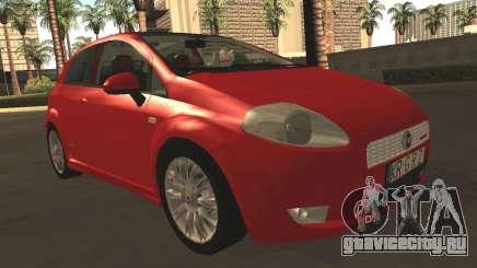 Fiat Grande Punto для GTA San Andreas