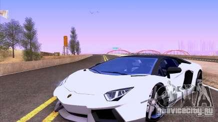 Lamborghini Aventador LP700-4 Vossen 2012 V2.0 F для GTA San Andreas