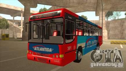 Marcopolo Torino G6 Linea 57 Atlantida для GTA San Andreas