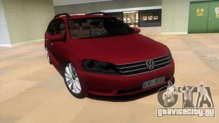 Volkswagen Passat B7 2012 для GTA Vice City