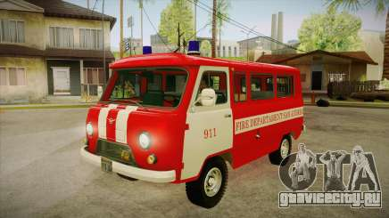 UAZ 452 Пожарный штабной SA для GTA San Andreas