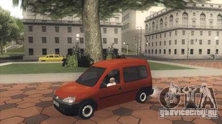 Opel Combo для GTA San Andreas