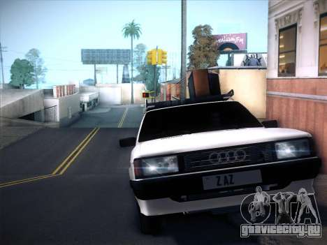 Audi 80 B2 v2.0 для GTA San Andreas вид сзади