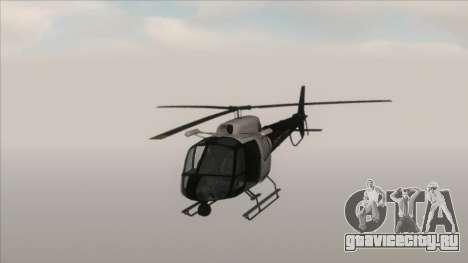 Police Maverick from GTA V для GTA San Andreas