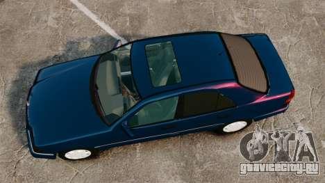 Mercedes-Benz C220 W202 v2.0 для GTA 4 вид справа