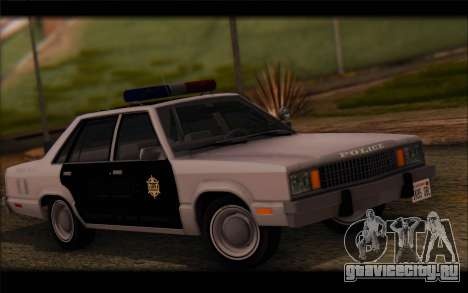 Ford Fairmont 1978 4dr Police для GTA San Andreas