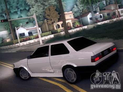 Volkswagen Voyage GL 94 2.0 для GTA San Andreas вид слева