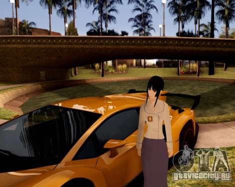 Indo-Japan High School Girl Uniform для GTA San Andreas