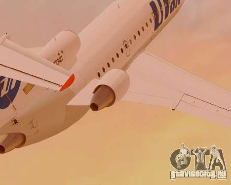 Як-42Д UTair для GTA San Andreas вид сзади слева