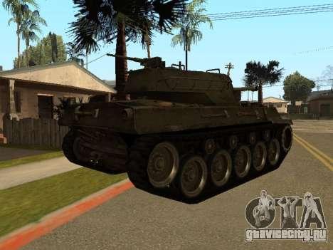 M18-Hellcat для GTA San Andreas вид справа
