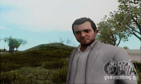 Trevor, Michael, Franklin для GTA San Andreas второй скриншот