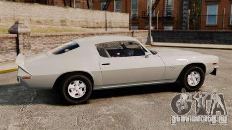 Chevrolet Camaro Z28 1970 v1.1 для GTA 4 вид слева