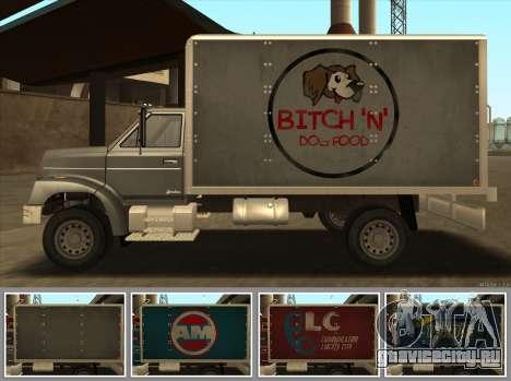 Yankee HD from GTA 3 для GTA San Andreas вид сзади слева