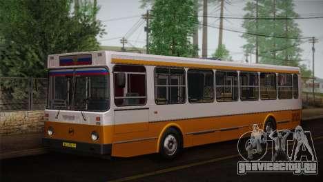 ЛиАЗ 5256.00 Скин-пак 3 для GTA San Andreas вид сверху