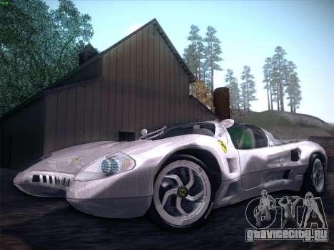 Ferrari P7 Chromo для GTA San Andreas двигатель