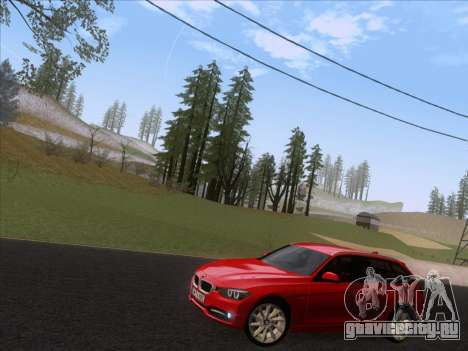 BMW 3 Touring F31 2013 для GTA San Andreas вид слева