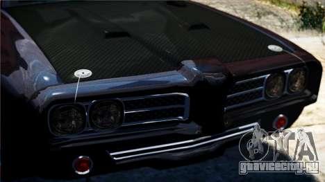 Hunter Cavalry из Burnout Paradise для GTA 4 вид сзади