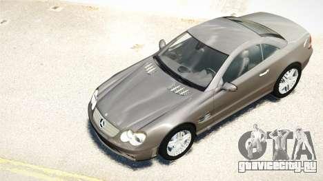 Mercedes-Benz SL65 2007 для GTA 4 вид изнутри