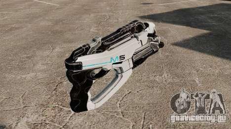 Пистолет Mass Effect v1 для GTA 4 второй скриншот