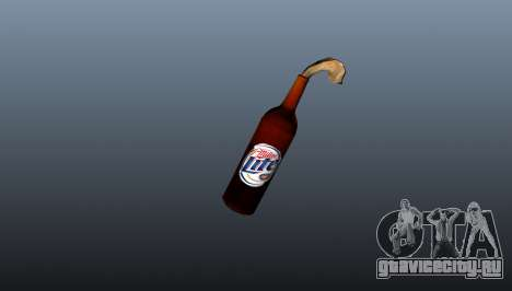 Коктейль Молотова -Miller Lite- для GTA 4