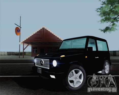 Mercedes-Benz G500 1999 Short для GTA San Andreas вид справа