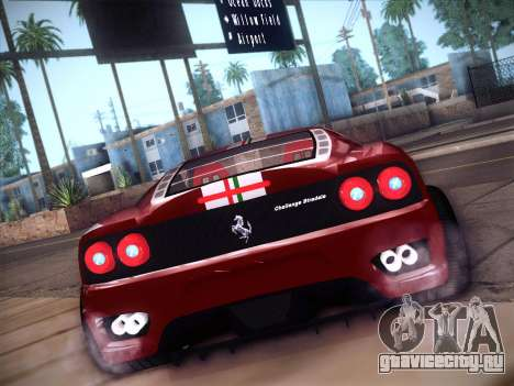Ferrari 360 Challenge Stradale для GTA San Andreas вид справа