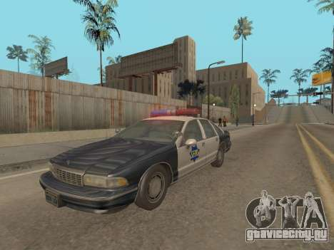 Chevrolet Caprice SFPD 1991 для GTA San Andreas
