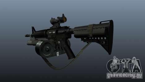 Автомат M4 C-Mag для GTA 4 второй скриншот