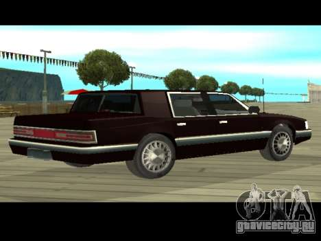 Willard HD (Dodge dynasty) для GTA San Andreas вид сзади слева