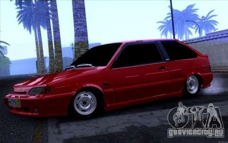 ВАЗ 2113 для GTA San Andreas вид слева