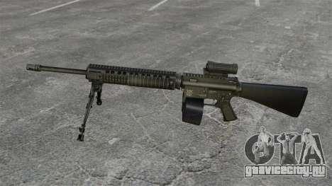 Штурмовая винтовка M16A4 C-MAG Scope для GTA 4 третий скриншот