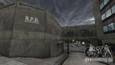 Полицейский участок Raccoon для GTA 4 четвёртый скриншот