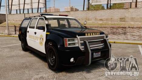 GTA V Declasse Granger Sheriff для GTA 4