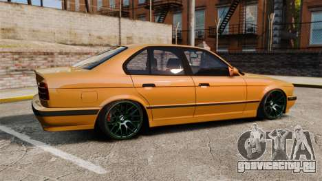 BMW M5 1995 для GTA 4 вид слева