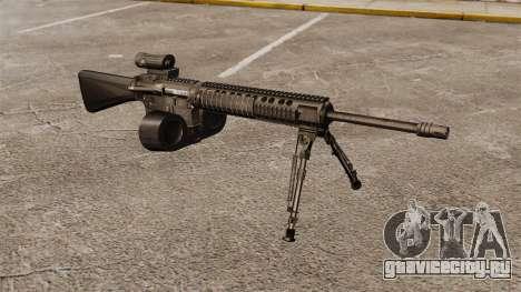 Штурмовая винтовка M16A4 C-MAG Scope для GTA 4