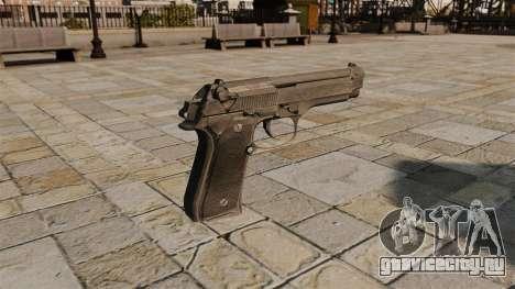 Самозарядный пистолет Beretta для GTA 4 второй скриншот
