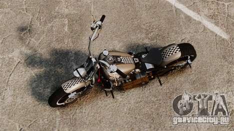 Harley-Davidson Knucklehead v2 для GTA 4 вид сзади слева