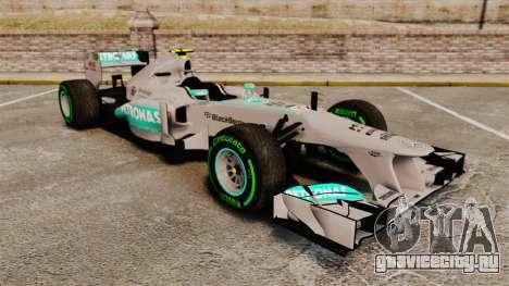 Mercedes AMG F1 W04 v4 для GTA 4