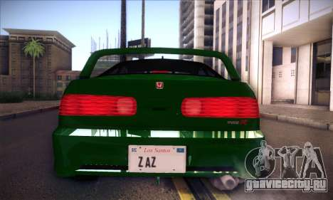 Honda Integra Normal Driving для GTA San Andreas вид справа